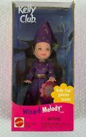 Wizard Melody Kelly Club Doll 1999 Mattel NEW NIB BOX HANG TAB Barbie + Poster