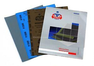 Wet and Dry Sandpaper Sheets 2500 3000 5000 7000 GRIT Ultra Fine Starcke MATADOR