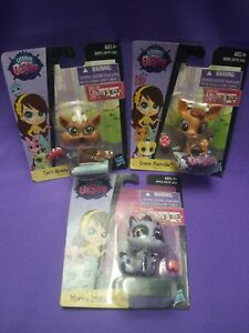 Littlest Pet Shop LPS Terrie Gracie Mackie All NIP Lot