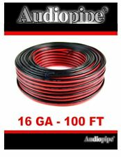 100Ft 16-2 Awg Gauge Electrical Wire,Low Voltage for Landscape Lighting ,Audio