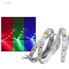 (13,18 €/m) 5m RGB LED Stripe 24v SUPERBRIGHT, 300 SMD Led, Strisce Barra Luminosa