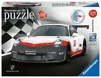Ravensburger 11147 Puzzle 3D 108 pièces Porsche 911 GT3 Cup, 108pc Jigsaw