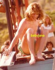 007 LEIF GARRETT CLIMBING OUT OF DUNK TANK BATTLE OF THE NETWORK STARS PHOTO