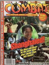 COMBAT MAGAZINE VOL.26-No.9 SEP 2000 JACKIE CHAN COVER *FREE UK SHIPPING