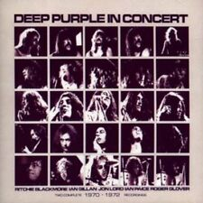 DEEP PURPLE - IN CONCERT - TWO COMPLETE 14970 - 1972 RECORDING - 2 CDS [CD]