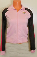 Energie Pink & Brown Long Sleeve Zip Front Polyester Jacket - Size Small