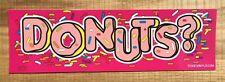 DONUTS ?   JDM DRIFT CAR SLAP STICKER