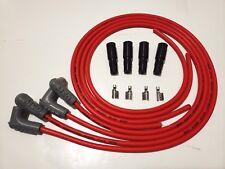 4 Msd 85mm Ls Lt Lt1 Universal Unassembled 90 Degree Spark Plug Boots Wires Red