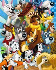 "20x24"" HD Canvas print Art painting (No frame) Disney ""Disney Dogs"""