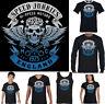 Speed Junkies England Biker T-Shirt Motorbike Motorcycle Cafe Racer Top English