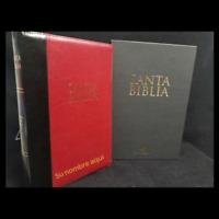 """BIBLIA LETRA SUPER GIGANTE CON INDICE Y CIERRE VINO Y NEGRO """"PERSONALIZADA"""""""