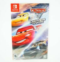 Cars 3 Driven to Win: Nintendo Switch [Brand New]