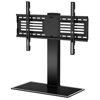 """Universal TV Stand with Swivel Mount Pedestal Base Wall Mount for 32-60"""" Flat TV"""