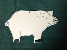 Kamenstein Melamine Pig Wall Hanging Farmhouse Decor
