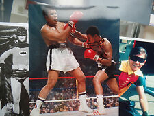 d2005 JIMMY YOUNG AUTOGRAPHED 8x10 signed vs Muhammad Ali slick Philadelphia HVY