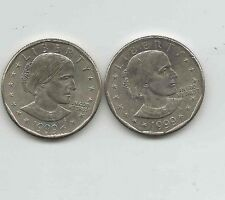 1999-P-D Susan B. Anthony Dollars.