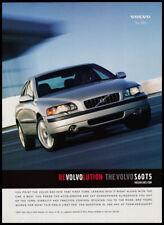 2001 Volvo S60T5 auto print ad - Revolvolution