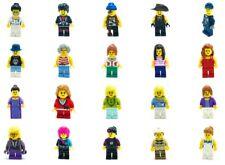 LEGO NEW MINIFIGURES TOWN CITY SERIES BOY GIRL NURSE CASTLE YOU PICK MORE FIGS