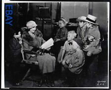 Barbara Stanwyck candid on set Photo From Original Negative