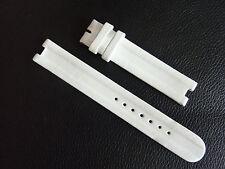 Rado la Coupole + Coupole S in Pelle Bracciale Bracelet 10 mm Bianco Plus Montaggio
