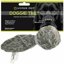 Hyper Pet Doggie Tail Interactive Plush Dog Toys Wiggles Vibrates and Barks –...