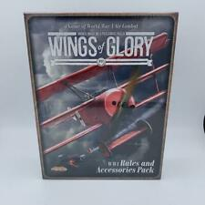 Wings of Glory WW1 Rules and Accessories Pack