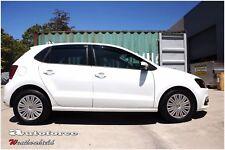 VW VOLKSWAGEN POLO 5 DR 2010-2017 WEATHERSHIELDS WEATHER SHIELD DOOR VISOR GUARD