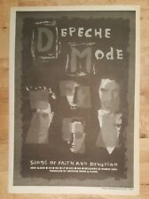 depech Mode Songs Of Faith 1993 Edición anuncio completo Páginas 27 x 38cm Mini