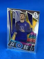 TOPPS MATCH ATTAX CHROME 2020-21 20/21 CHELSEA TIMO WERNER #23