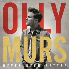 OLLY MURS ( NEW SEALED CD ) NEVER BEEN BETTER ( UP FEAT. DEMI LOVATO )