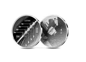Lithuania 2021 silver coin 20 Euro Tokyo Olympic games  proof coin box coa