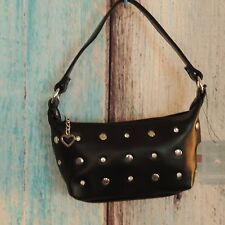 Small  Purse Black  Bling Hobo Handbag