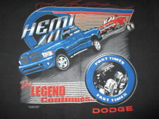 "Vintage HEMI 5.7L V8 The Legend Continues ... DODGE ""Fast Times"" (LG) T-Shirt"