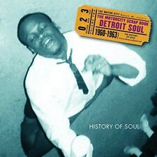 Various Artists - The Motorcity Scrap Book : Detroit Soul 1960-1963 (NEW 2 X CD)