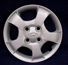 "HYUNDAI ACCENT 00-02 13"" 5 SPOKE SILVER WHEEL COVER / HUBCAP - 1 - OEM"
