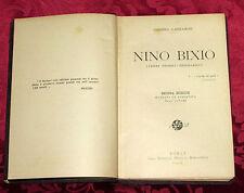 Libro Generale Nino Bixio Cenni Storici Biografici Risorgimento Lazzarini 1910