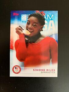 SIMONE BILES - #38  - 2016 Topps Olympics