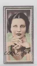 1936 Godfrey Phillips Stars of the Screen Tobacco Base #22 Kay Francis Card 0iu