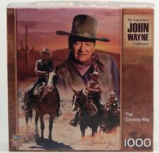 2012 John Wayne The Legendary Collection The Cowboy Way 1000 Pieces Puzzle