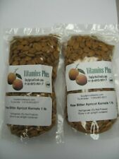 Raw and Bitter Apricot Kernels (2 Pack of 1lbs)