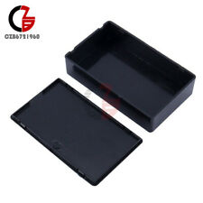100x60x25mm Black Plastic Cover Project Electronic Instrument Case Enclosure Box