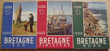 MONMARCHE Georges - BRETAGNE NORD ET SUD FINISTERE - 3 VOLUMES - MOLINARD - 1955