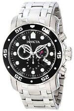 Invicta 0069 Men's Pro Diver SS Black Dial Chronograph Watch