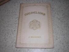 1901.partition piano et chant Griselidis / Massenet.musique