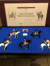 LIFE GUARDS MOUNTED BAND BY BRITAINS ON HORSE #5195 Limited Edition
