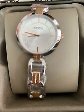 FOSSIL STAINLESS STEEL LADIES WATCH BQ3341