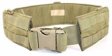 Eagle Allied Industries Size 32 SFLCS MJK Khaki Padded MOLLE War Battle Belt LBT
