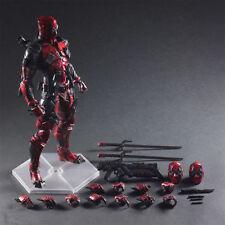 Play Arts Kai PA Deadpool Marvel Variant Action Figure Toy Doll Statue Display #