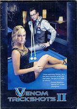 Venom Trickshots Vol. 2 DVD - Billiards Pool Instruction - Free Shipping