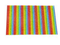 Rainbow Hot Fix Crystal Mesh, EIMASS® Cut Glass Transfer Sheet, Cut To Size